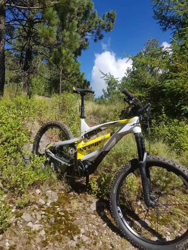 Bicicleta Electrica de montana doble suspension carbon GREYP G 6 3 Mexico Desierto de los Leones Oneride Team Strava KOM (3)