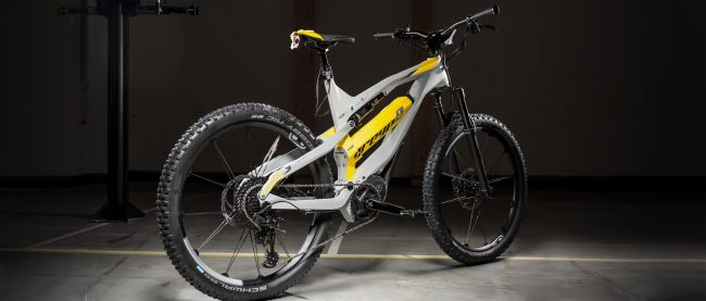 eMTB All Mountain Doble Carbon Greyp G6.3 45 kmh nueva talla Grande Avandaro