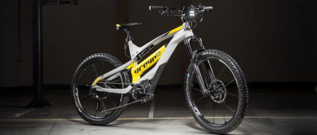 eMTB All Mountain Doble Carbon Greyp G6.3 45 kmh nueva talla Grande Avandaro Edomex