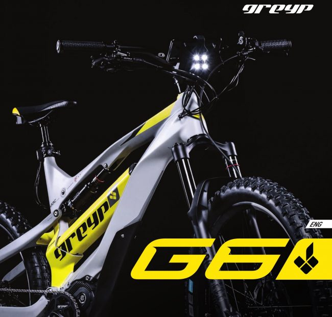 eMTB All Mountain Doble Carbon Greyp G6.3 45 kmh nueva talla Grande Avandaro Valle