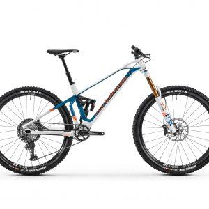 Mondraker SuperFoxy R 29 carbon 2020 talla M - blanca azul derecha Mexico